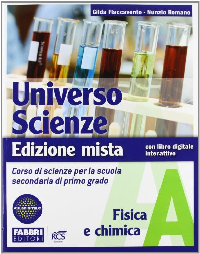 9788845162121: Universo scienze. Tomi A-B-C-D. Con l'apprendista scienziato e Newton. Per la Scuola media. Con DVD-ROM. Con espansione online