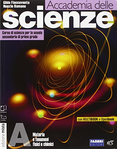 9788845186103: Accademia delle scienze. Tomi A-B-C-D. Con INVALSI-Rivista. Per la Scuola media. Con DVD-ROM. Con espansione online