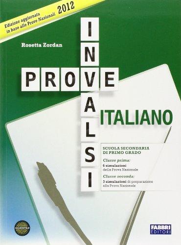 9788845190827: Prove INVALSI italiano. Con griglie di correzione. Per la 1ª e 2ª classe della Scuola media