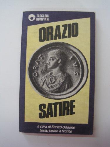9788845202100: Satire. Testo latino a fronte