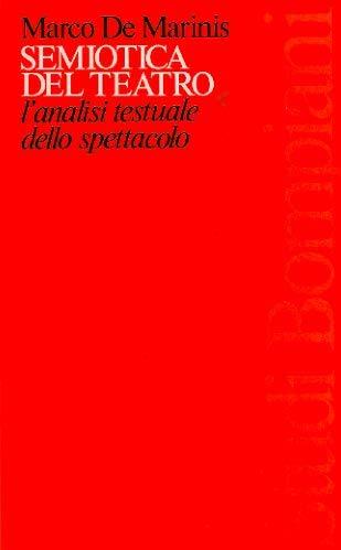 9788845208386: Semiotica del teatro (Studi Bompiani)