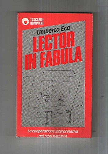 9788845212215: Lector in fabula (Tascabili. Saggi)