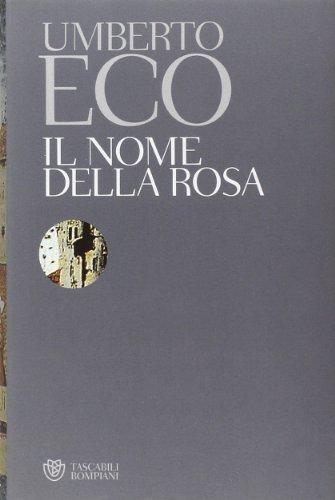 9788845214219: Il Nome Della Rosa (Italian Edition)