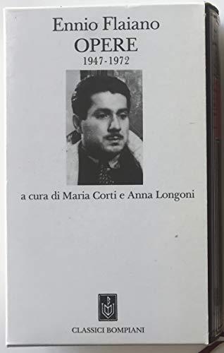 9788845215070: Opere (Classici Bompiani) (Italian Edition)