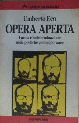 9788845219986: Opera Aperta (Italian Edition)