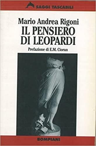 9788845229619: Il pensiero di Leopardi (Saggi tascabili) (Italian Edition)