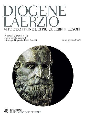 9788845233012: Vite e dottrine dei più celebri filosofi. Testo greco a fronte