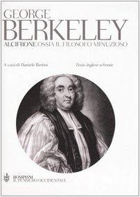Alcifrone. Ossia il filosofo minuzioso. Testo inglese a fronte (8845234657) by George. Berkeley