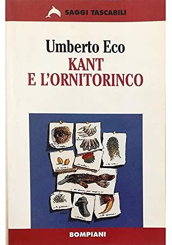 9788845240638: Kant E Lornitorinco