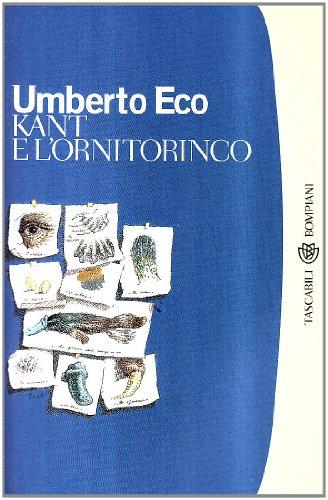 9788845251108: Kant E L'Ornitorinco (Italian Edition)