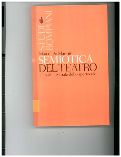 9788845253492: Semiotica del teatro