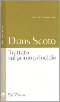 9788845260599: Trattato sul primo principio. Testo latino a fronte