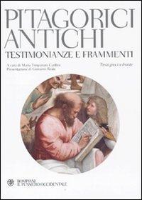 9788845266331: Pitagorici antichi. Testimonianze e frammenti. Testo greco a fronte