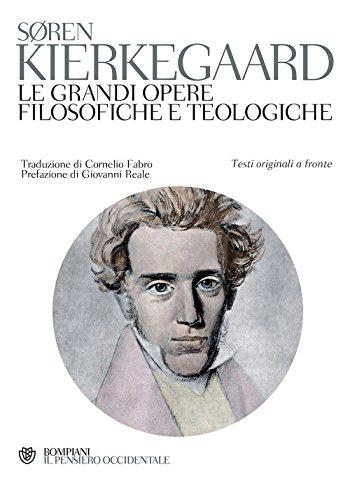 9788845273391: Le grandi opere filosofiche e teologiche. Testo originale a fronte