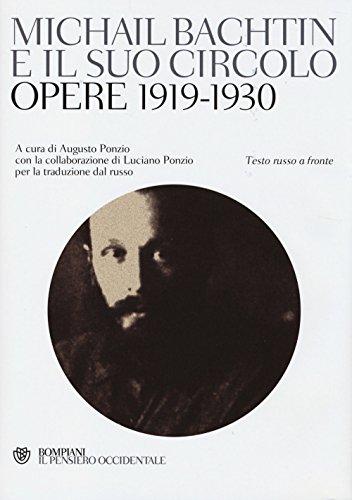 9788845275876: Michail Bachtin e il suo circolo. Opere 1919-1930. Testo russo a fronte