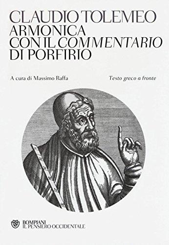 9788845280917: Armonica con il Commentario di Porfirio. Testo greco a fronte