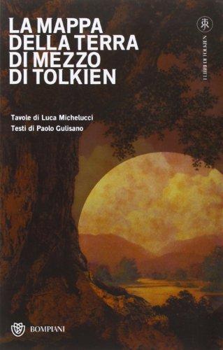 9788845290824: La mappa della Terra di mezzo di Tolkien