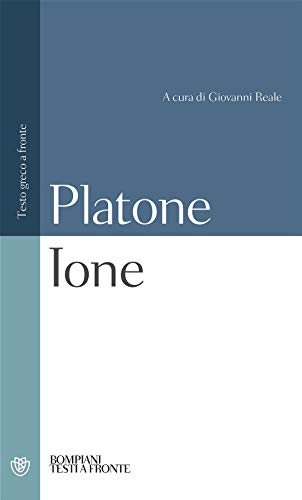 Ione. Testo greco a fronte (Paperback): Platone
