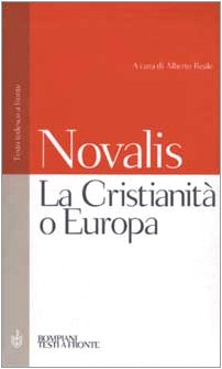 9788845291944: La Cristianità o Europa. Testo tedesco a fronte