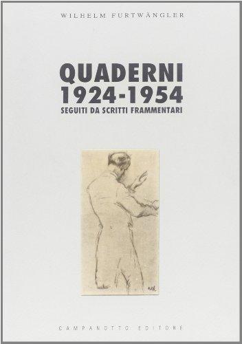 9788845600852: Quaderni (1924-1954)-Scritti frammentari