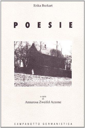 9788845606878: Poesie