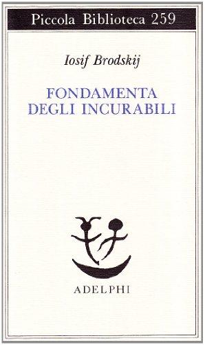 9788845908088: Fondamenta degli incurabili (Piccola biblioteca Adelphi)