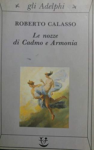 9788845908149: Le nozze di Cadmo e Armonia (Italian Edition)