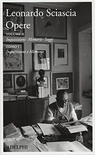9788845929441: Opere. Inquisizioni, memorie, saggi. Inquisizioni e memorie (Vol. 2/1)