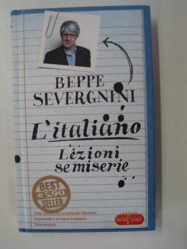 9788846210104: L'italiano. Lezioni semiserie