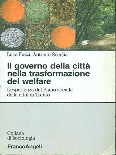 Il governo della città nella trasformazione del: Luca Fazzi; Antonio
