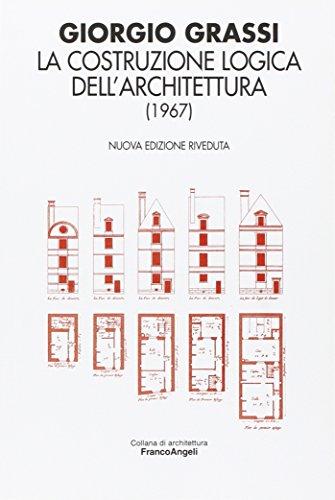9788846498953: La costruzione logica dell'architettura (1967)