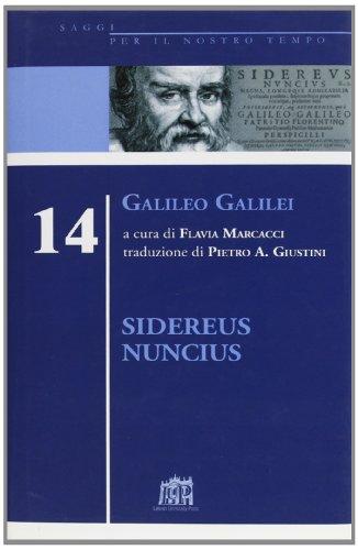9788846506528: Sidereus nuncius vol. 14 - Galileo Galilei
