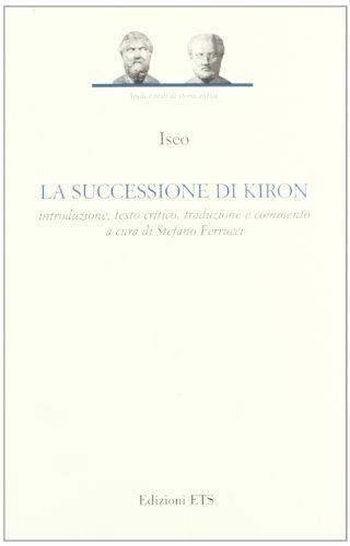 La successione di Kiron: Iseo