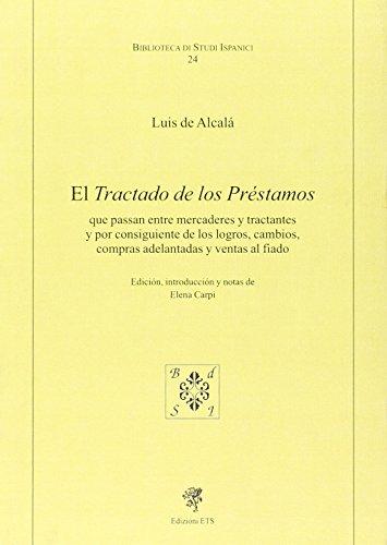 9788846731449: El tractado de los prestamos (Biblioteca di studi ispanici)