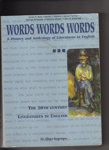 Words words words. 3: Allen, Derek