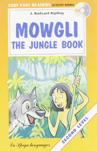 9788846825186: La Spiga Readers - Very Easy Readers (A1/A2): Mowgli - the Jungle Book + CD