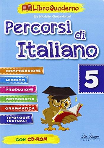 9788846834386: Percorsi di italiano. Per la Scuola elementare (Vol. 5)