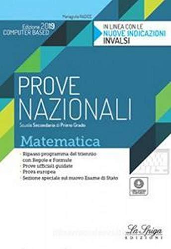 9788846838261: Prove nazionali mateamtica. Per la Scuola media