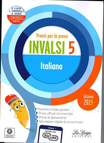 9788846838513: Pronti per la prova INVALSI italiano. Per la 5ª classe elementare