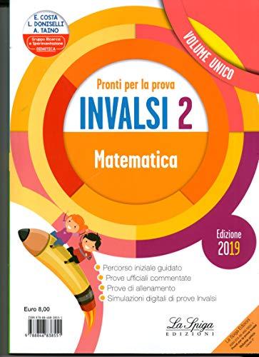 9788846838551: Pronti per la prova INVALSI. Italiano, matematica. Per la 2ª classe elementare