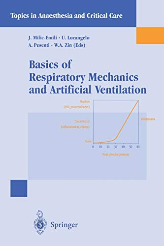 9788847000469: Basics of Respiratory Mechanics and Artificial Ventilation (Topics in Anaesthesia and Critical Care)