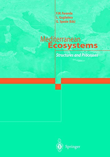 9788847001145: Mediterranean Ecosystems: Structures and Processes