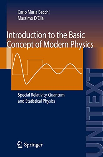 Introduction to the Basic Concepts of Modern: Becchi, Carlo M.