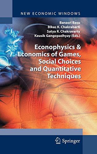 9788847015005: Econophysics and Economics of Games, Social Choices and Quantitative Techniques