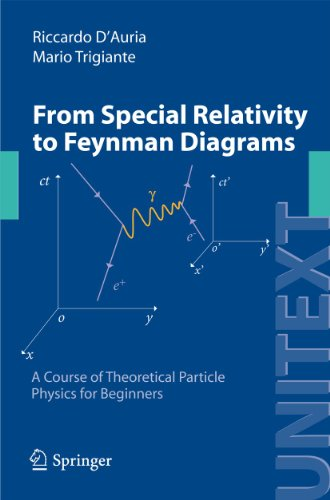 9788847015036: From Special Relativity to Feynman Diagrams: A Course