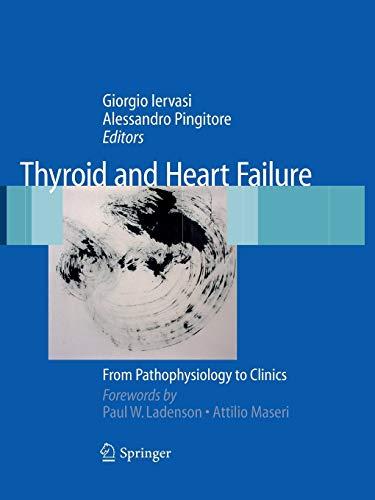 9788847015692: Thyroid and Heart Failure: From Pathophysiology to Clinics