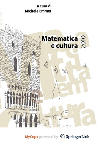 9788847015951: Matematica E Cultura 2010