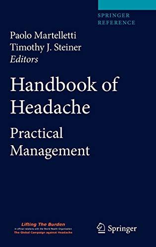 9788847016996: Handbook of Headache: Practical Management