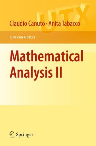 9788847017832: Mathematical Analysis II (Universitext)
