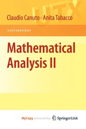9788847017856: Mathematical Analysis II